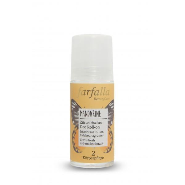 Déodorant Mandarine roll-onfraicheur agrumes 50ml