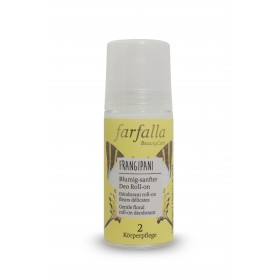 Déodorant Frangipani roll-on fleurs délicates 50ml